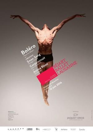 Bejart Ballet Lausanne SWAN SONG Giorgio Madia
